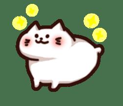 Marshmallow cats sticker #4777093