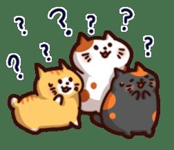 Marshmallow cats sticker #4777096