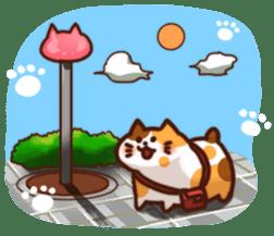 Marshmallow cats sticker #4777097