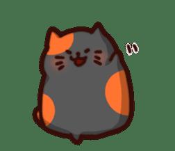 Marshmallow cats sticker #4777098
