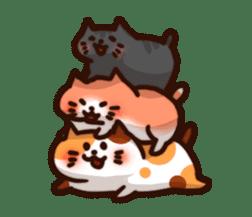 Marshmallow cats sticker #4777101