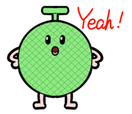 Interesting character flock English ver2 sticker #4777147