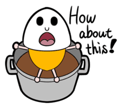 Interesting character flock English ver2 sticker #4777150