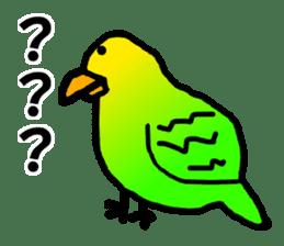 Dry birds sticker #4777227