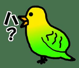 Dry birds sticker #4777234