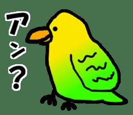 Dry birds sticker #4777237