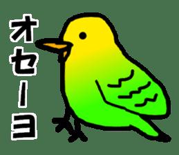 Dry birds sticker #4777241