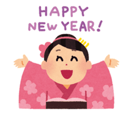 Happy New Year (Woman Version) sticker #4777865