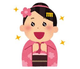 Happy New Year (Woman Version) sticker #4777873