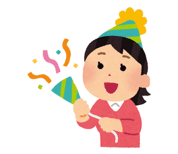 Happy New Year (Woman Version) sticker #4777883