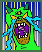 Monstamp! sticker #4778738