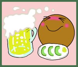 DailyLife of Avocado-chan sticker #4780985