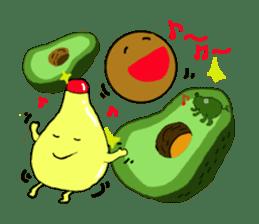 DailyLife of Avocado-chan sticker #4780988
