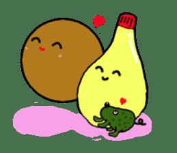 DailyLife of Avocado-chan sticker #4780990