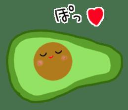 DailyLife of Avocado-chan sticker #4780996
