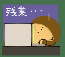 DailyLife of Avocado-chan sticker #4780998