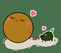 DailyLife of Avocado-chan sticker #4781002