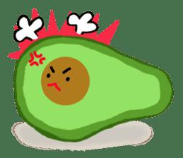 DailyLife of Avocado-chan sticker #4781010