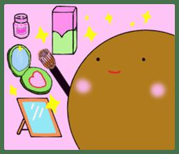 DailyLife of Avocado-chan sticker #4781015