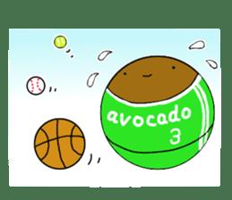 DailyLife of Avocado-chan sticker #4781019