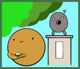 DailyLife of Avocado-chan sticker #4781022