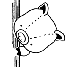 piggy is comming 3 sticker #4782224