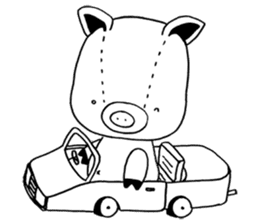 piggy is comming 3 sticker #4782228