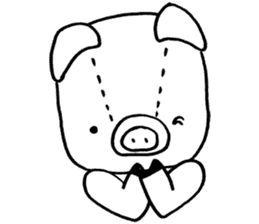 piggy is comming 3 sticker #4782242