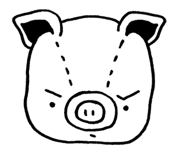 piggy is comming 3 sticker #4782244