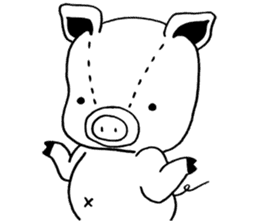 piggy is comming 3 sticker #4782252