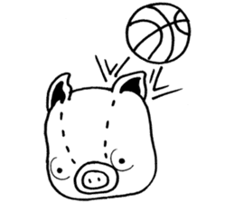piggy is comming 3 sticker #4782254