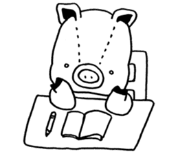 piggy is comming 3 sticker #4782256