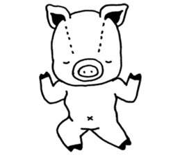 piggy is comming 3 sticker #4782261