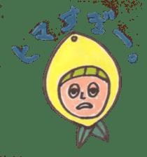 office worker lemon sticker #4782584
