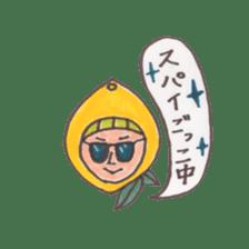 office worker lemon sticker #4782587
