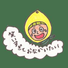 office worker lemon sticker #4782588