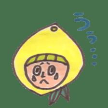 office worker lemon sticker #4782593