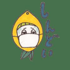 office worker lemon sticker #4782595