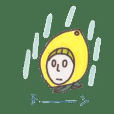 office worker lemon sticker #4782596