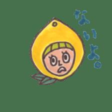 office worker lemon sticker #4782599