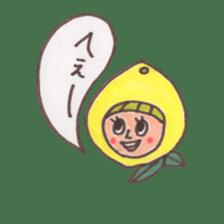 office worker lemon sticker #4782600