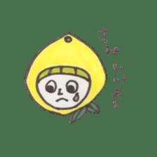 office worker lemon sticker #4782608