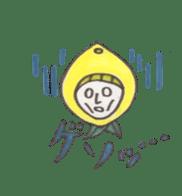 office worker lemon sticker #4782615