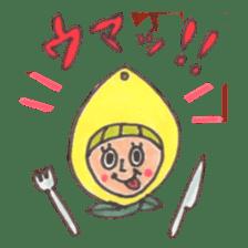 office worker lemon sticker #4782623