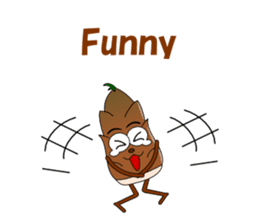 Conversation with bamboo shoots English sticker #4783140