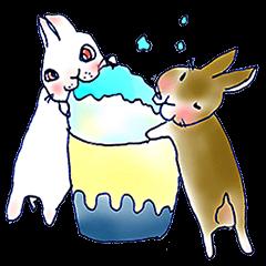 Small Rabbit strange dream