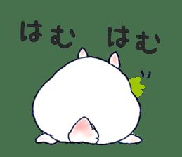 Small Rabbit strange dream sticker #4783545
