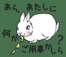 Small Rabbit strange dream sticker #4783546