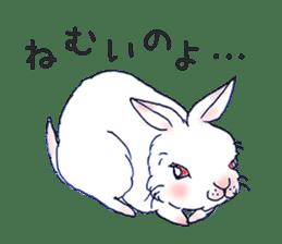 Small Rabbit strange dream sticker #4783550