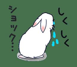 Small Rabbit strange dream sticker #4783551